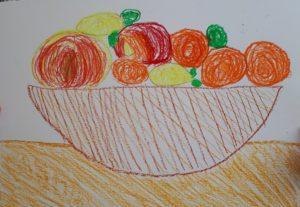 Demain c'est dimanche, je mange une orange